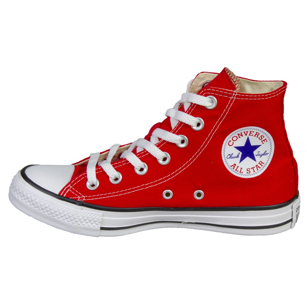 Tênis Converse All Star Chuck Taylor Vermelho Cano Longo
