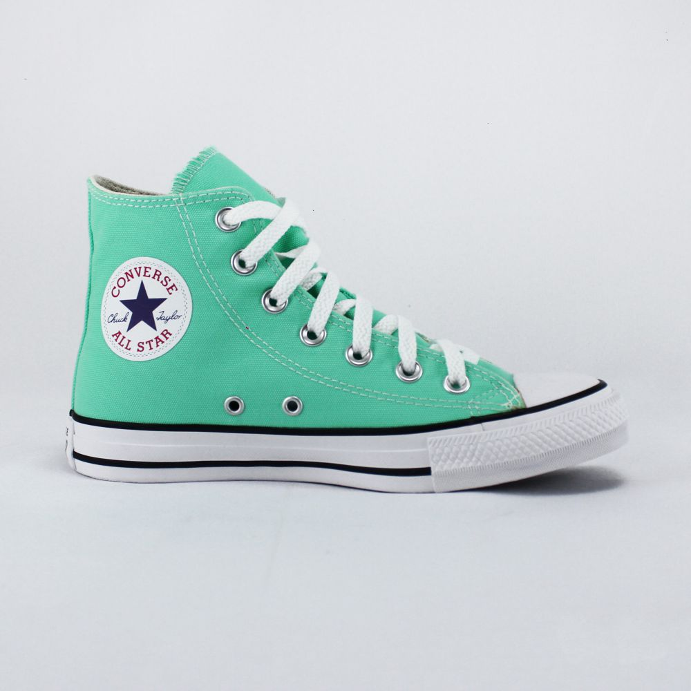 Tênis Converse Chuck Taylor All Star Verde Brilhante Cano Longo