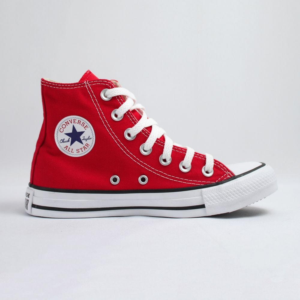 Tênis Converse Chuck Taylor All Star Vermelho Cano Longo