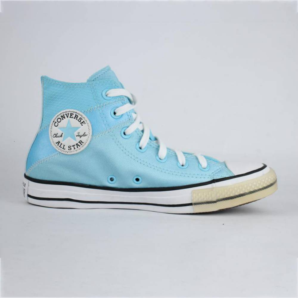 Tênis Converse Chuck Taylor Cano Longo Azul