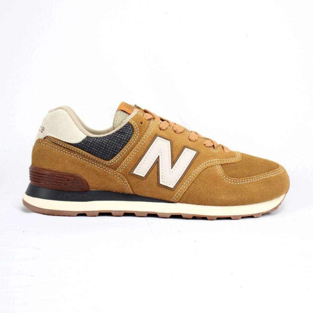 Tênis New Balance 574 SOI Marrom