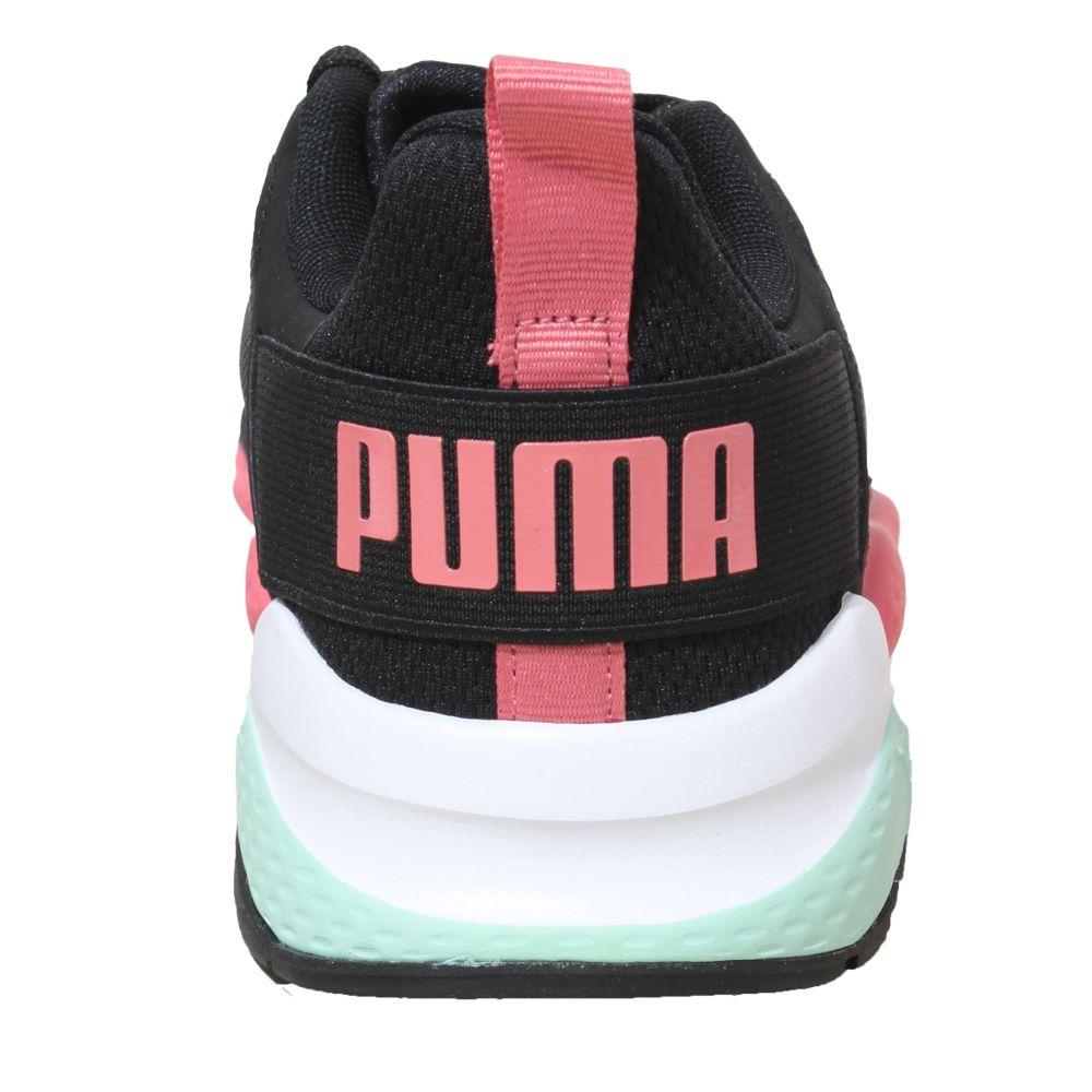 Tênis Puma Anzarun Preto Coral