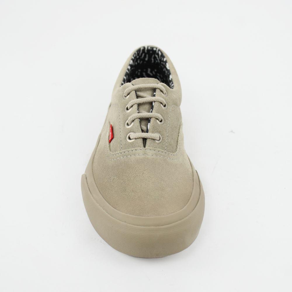 Tênis Redley Premium Leather Suede Caqui