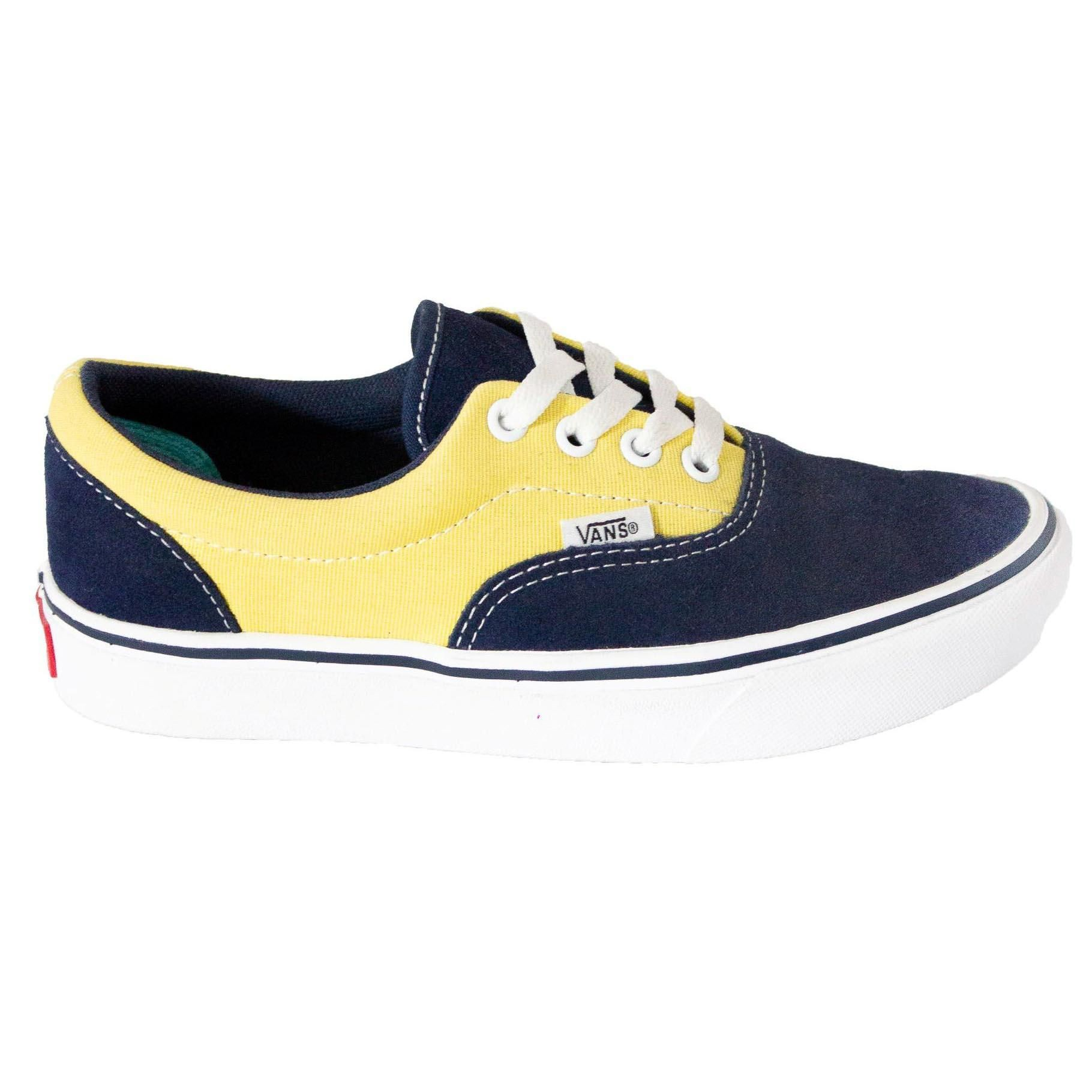Tênis Vans Comfycush Era Suede Canvas Dress Blues