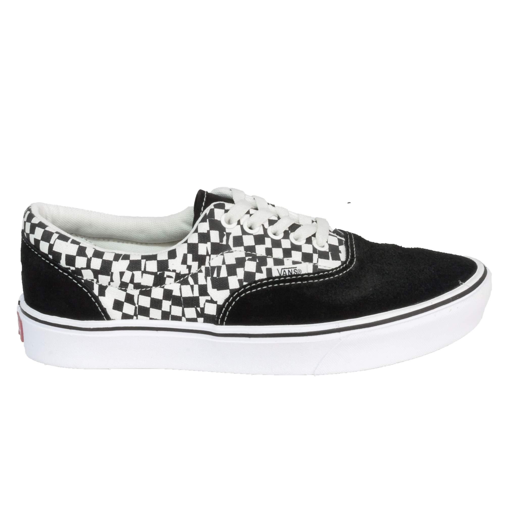 Tênis Vans Era Comfycush Checkerboard Preto
