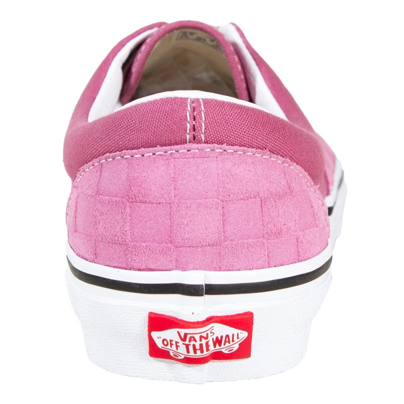 Tênis Vans Era Checkerboard Rosa