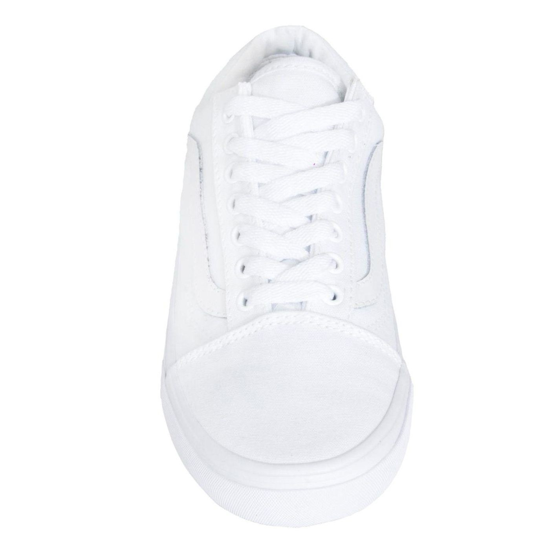 Tênis Vans Old Skool True White
