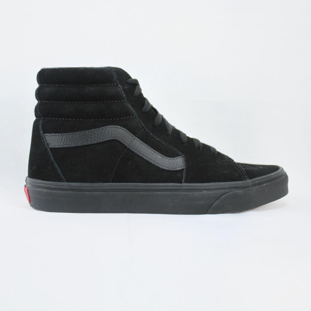 Tênis Vans Sk8 Hi Black Black