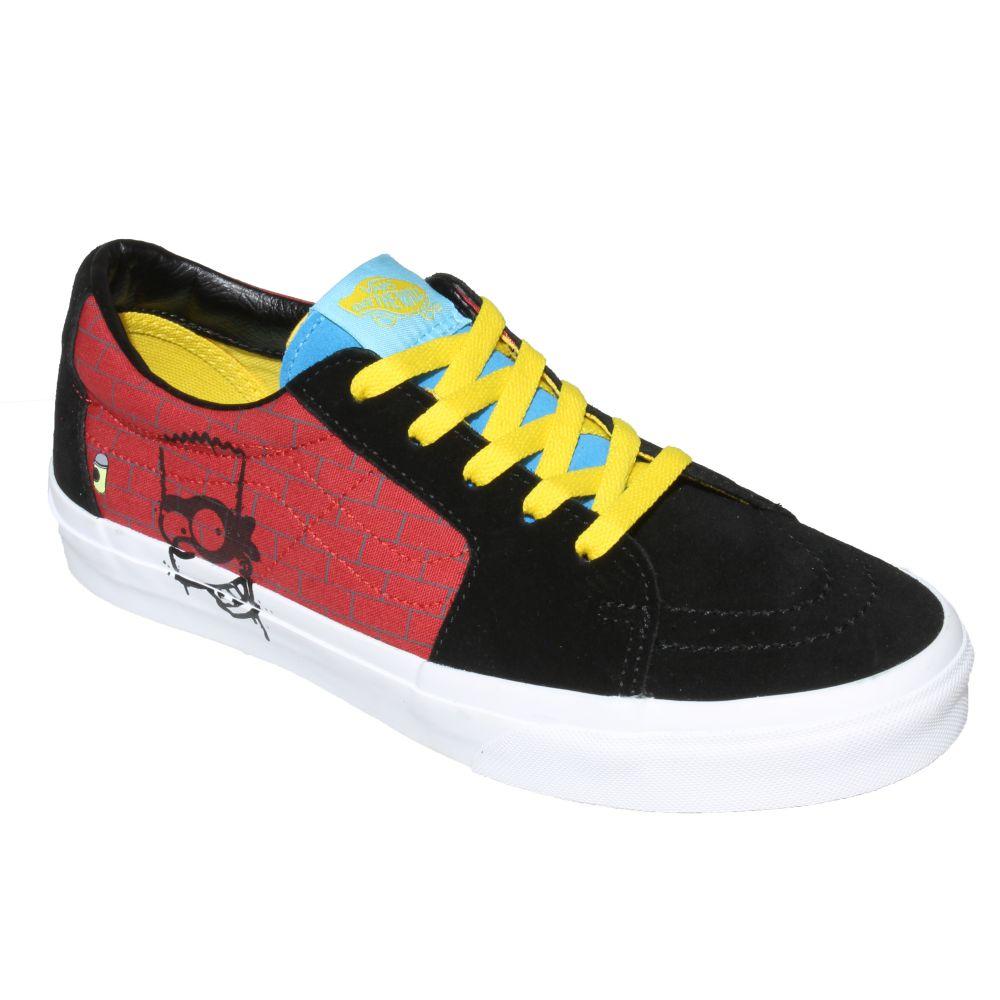 Tênis Vans Sk8 Low Simpsons