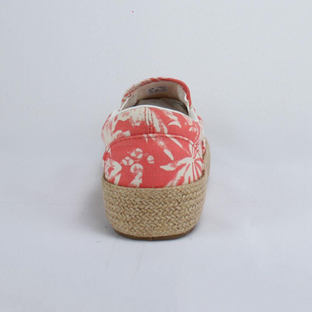 Tênis Vans Slip On Plataforma Floral Linen