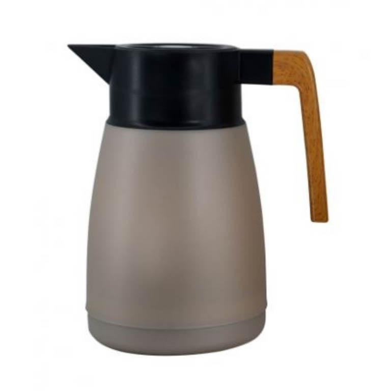 GARRAFA TERMICA COFFEESHOP EM POLIPROPILENO PRATA METALICO 1L
