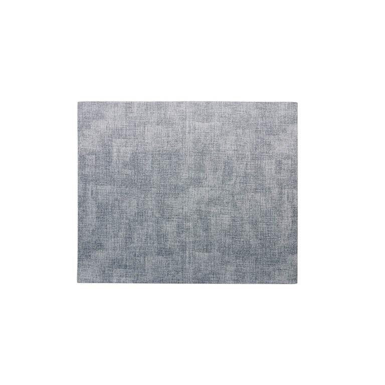 LUGAR AMERICANO RETANGULAR EM PVC AZUL 44X35CM