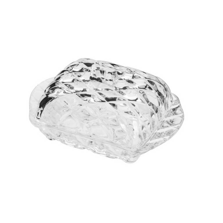 MANTEIGUEIRA DE CRISTAL DELI DIAMOND 17X10CM