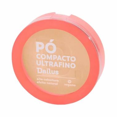 Pó Compacto Ultra Fino cor D.3 Claro Dailus