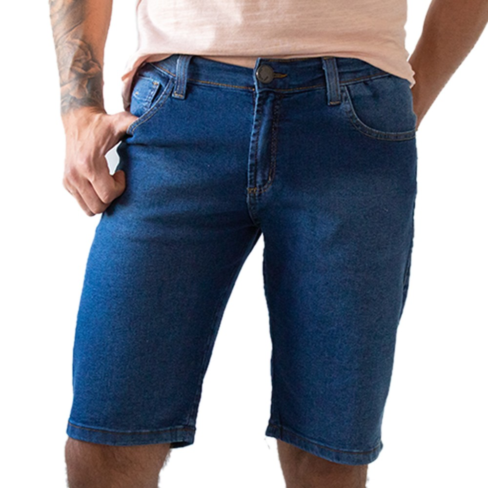 Bermuda Slim Masculina Jeans Anticorpus