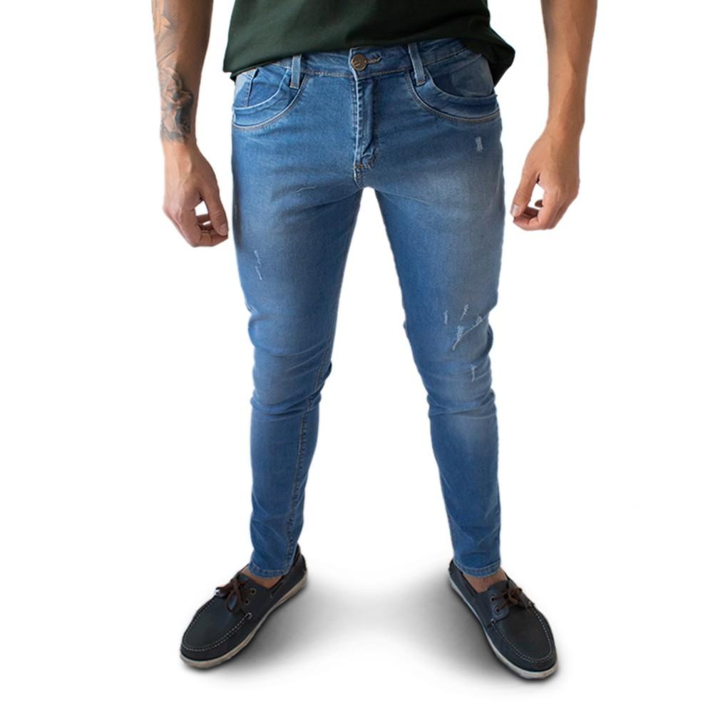 Calça Jeans Masculina Super Skinny Algodão Elastano Anticorpus