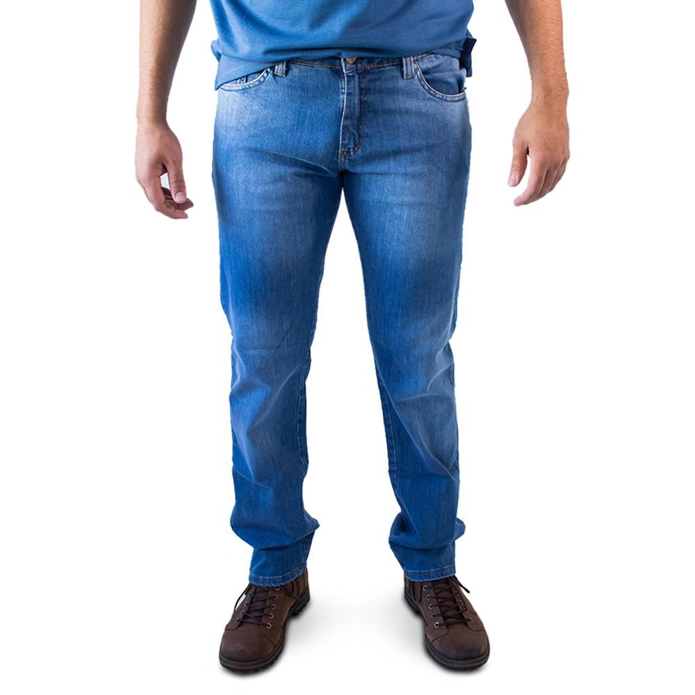 Calça Masculina Jeans Slim Forro Algodão Elastano Anticorpus