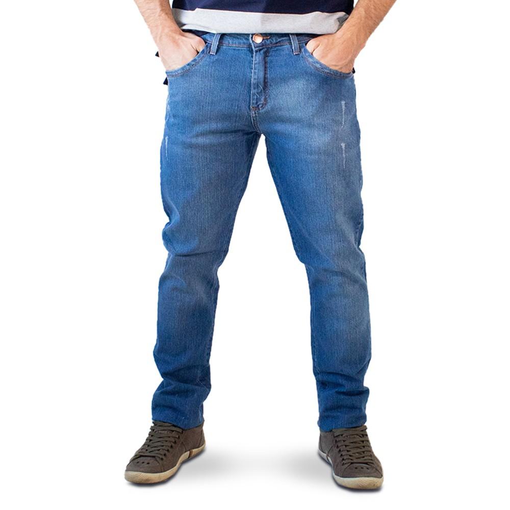 Calça Masculina Jeans Super Skinny Puídos Anticorpus