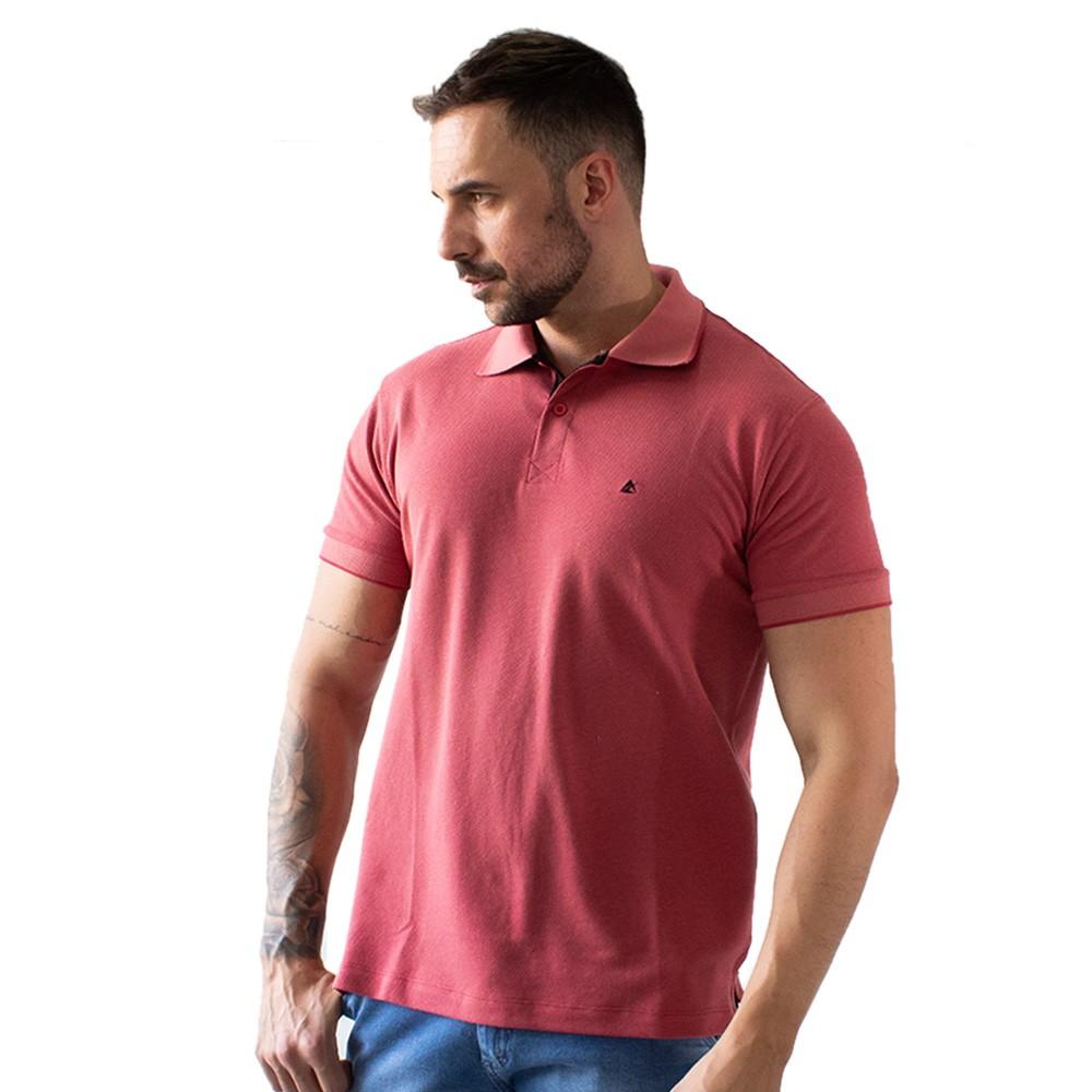 Camisa Polo Masculina Viscose e Elastano Várias Cores Anticorpus