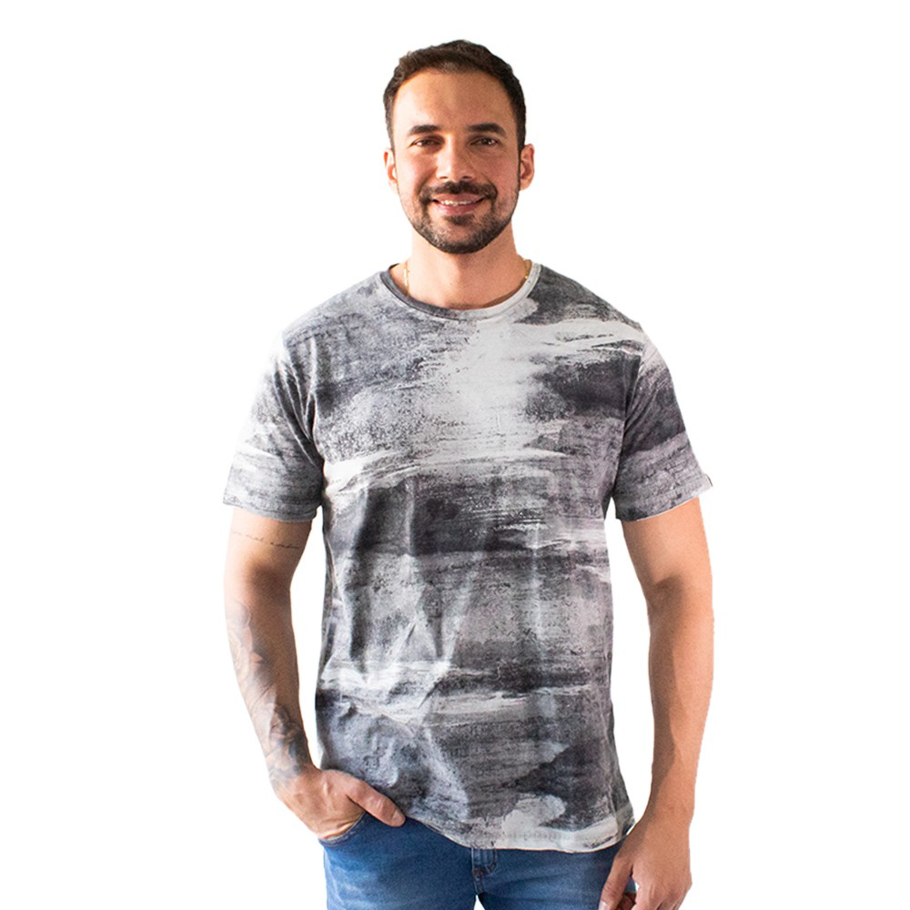 Camiseta Tie Dye Masculina Malha Várias Cores Anticorpus