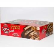 Choco Soy Break Tradicional 38g - Display com 12 Unidades