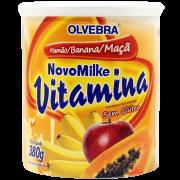 Novomilke Vitamina Mamão/Banana/Maçã 380g
