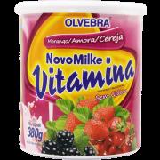 Novomilke Vitamina Morango/Amora/Cereja 380g