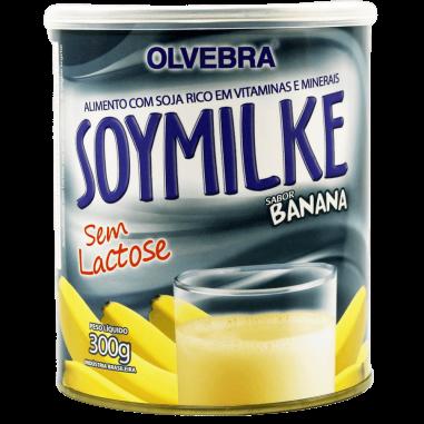 Soymilke Banana Lata 300g