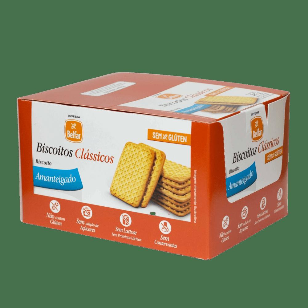 Belfar Biscoito Amanteigado Display com 10 Unidades