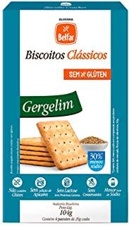 Biscoito Clássico Cracker Gergelim Belfar 104g - Cartucho com 4 Unidades