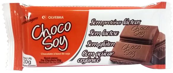 Choco Soy Barra 20g