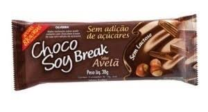 Choco Soy Break Avelã 38g