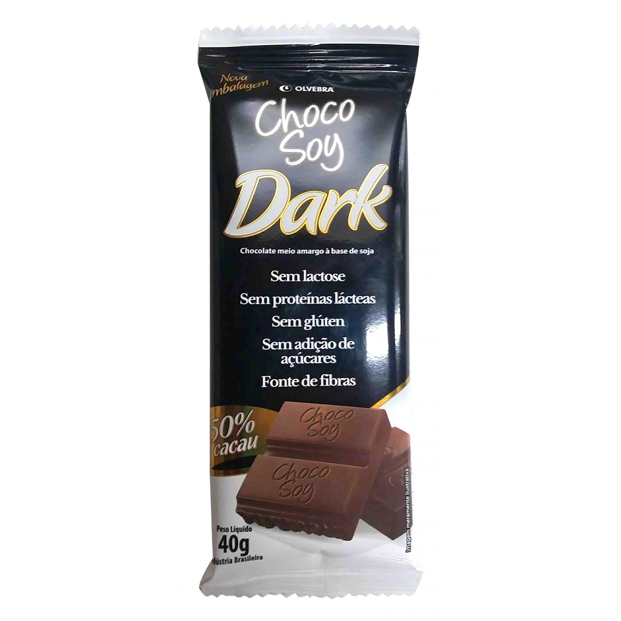 Choco Soy Dark 40g