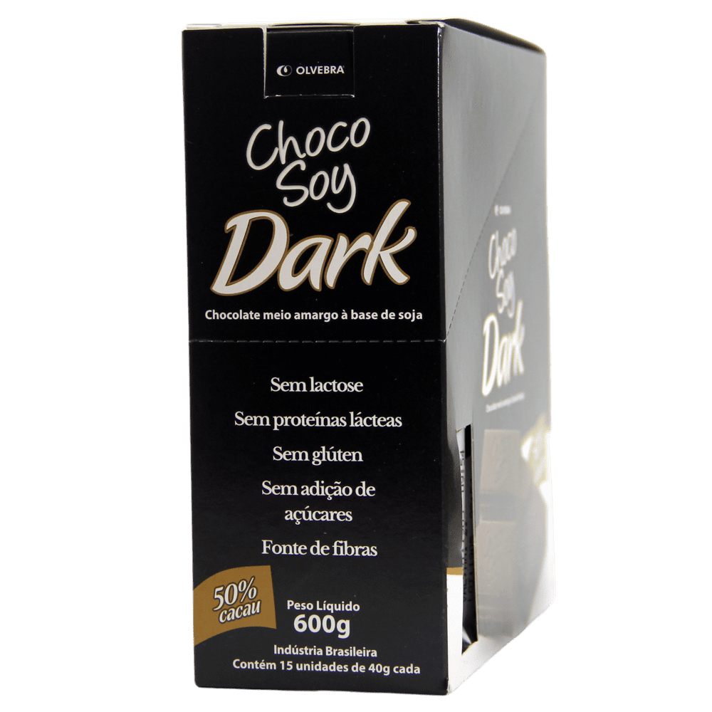 Choco Soy Dark 40g Display