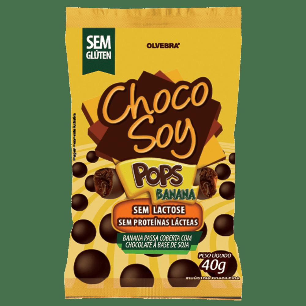 Choco Soy Pops Banana 40g