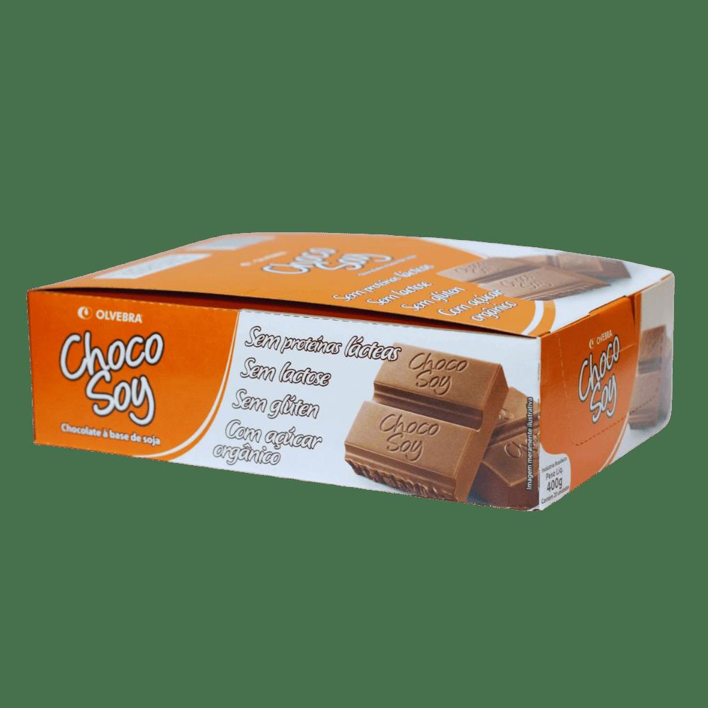 Choco Soy Tradicional Barra 20g - Display com 20 Unidades