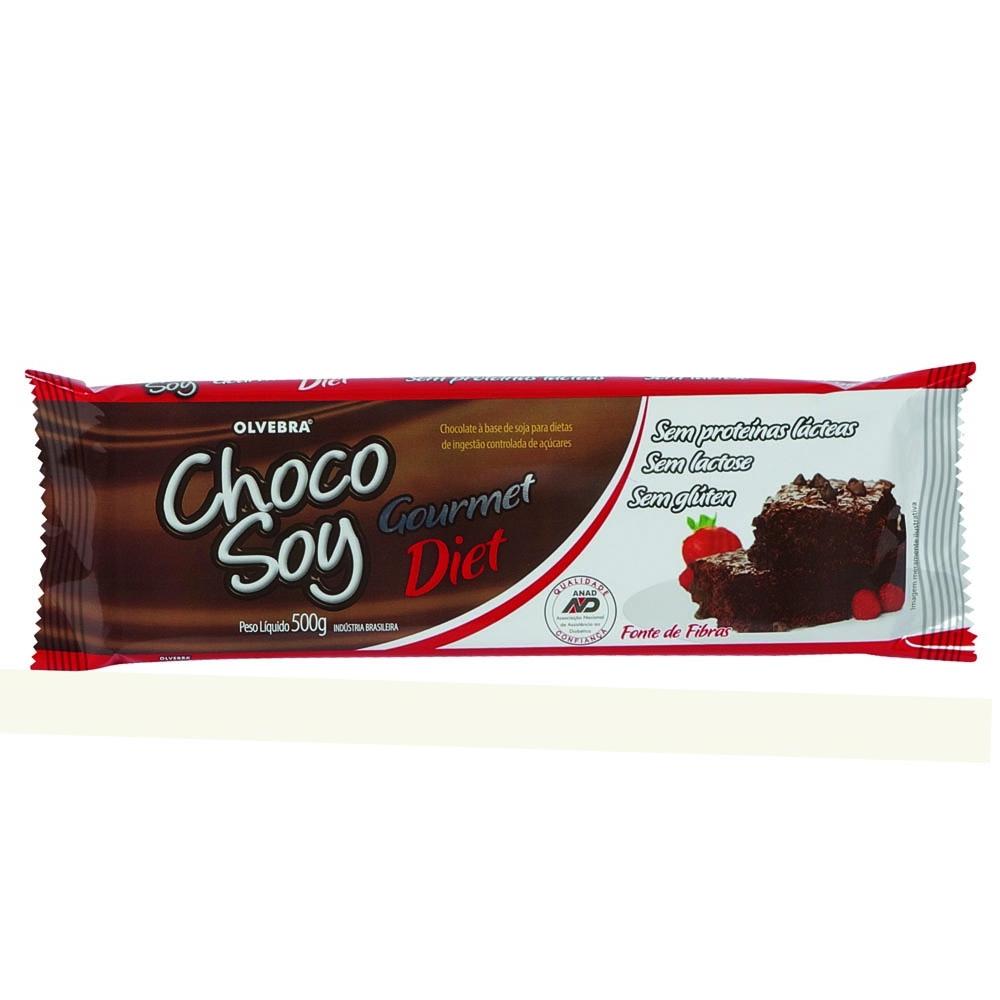 KIT 3 CHoco Soy Gourmet 500g Diet (SOMENTE PARA PESSOA FISICA)