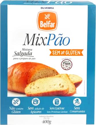 Mix Pão Belfar 400G
