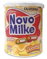 Novomilke Banana 380g