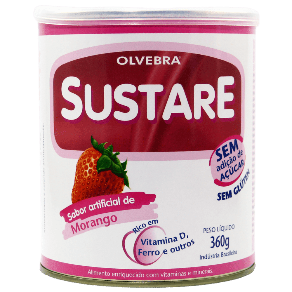 Sustare Morango 360g - Sem açúcar