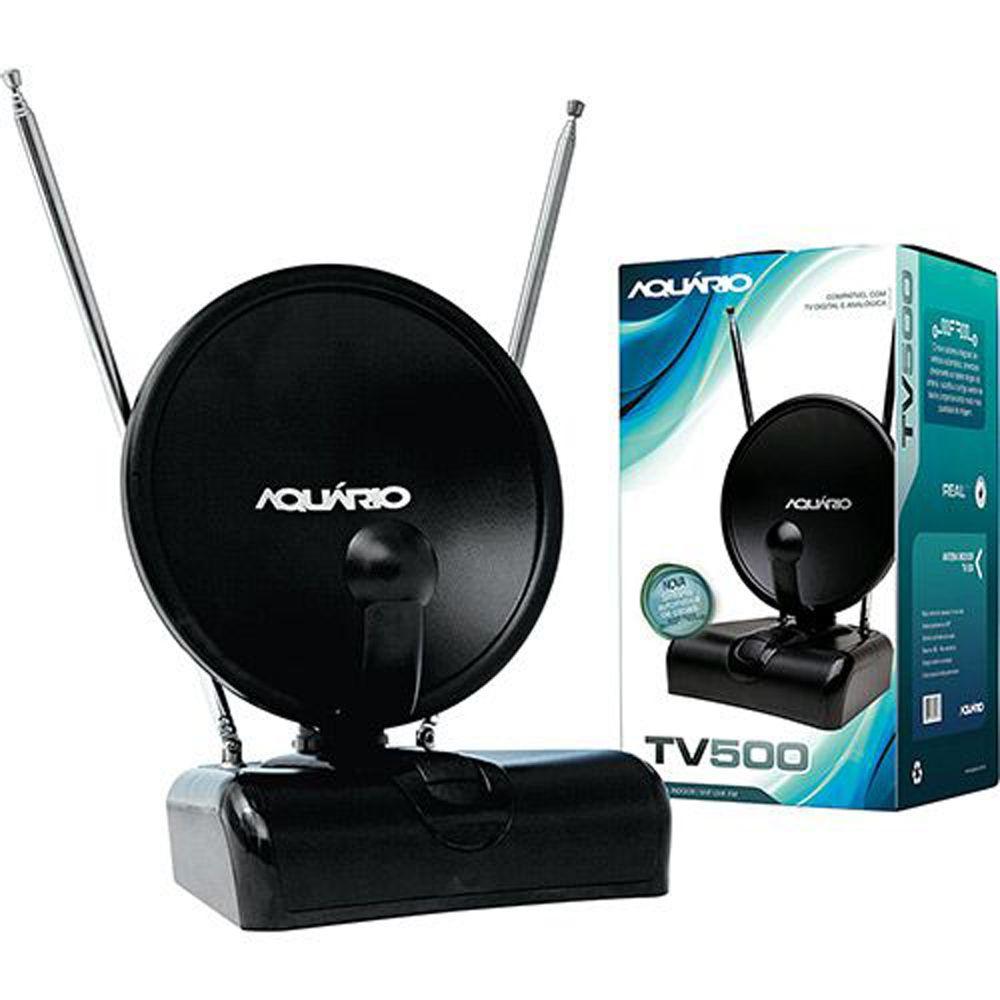 Antena Interna Aquário 4 em 1 - Tv-500