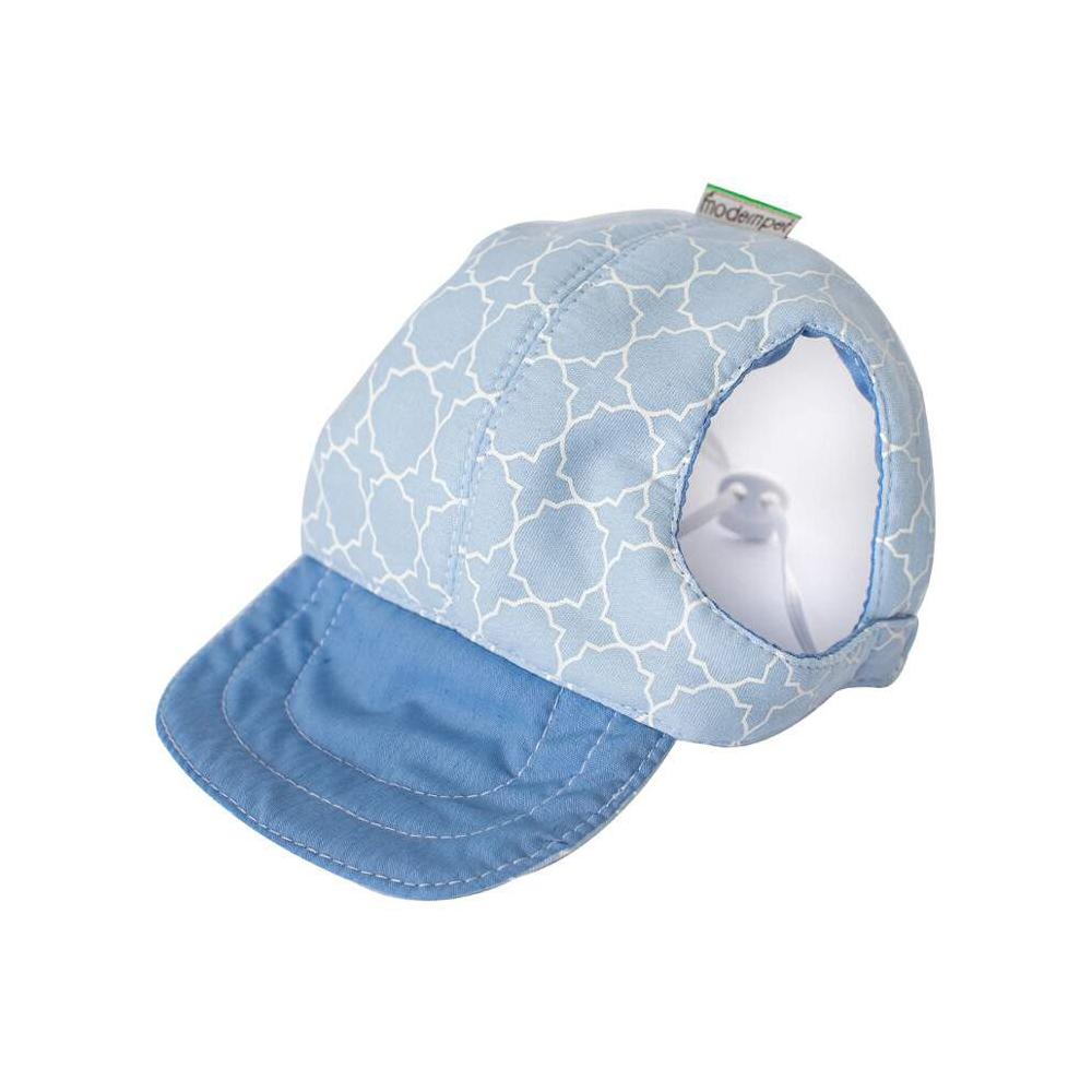 Boné Modernpet Azul Bebe para Cães