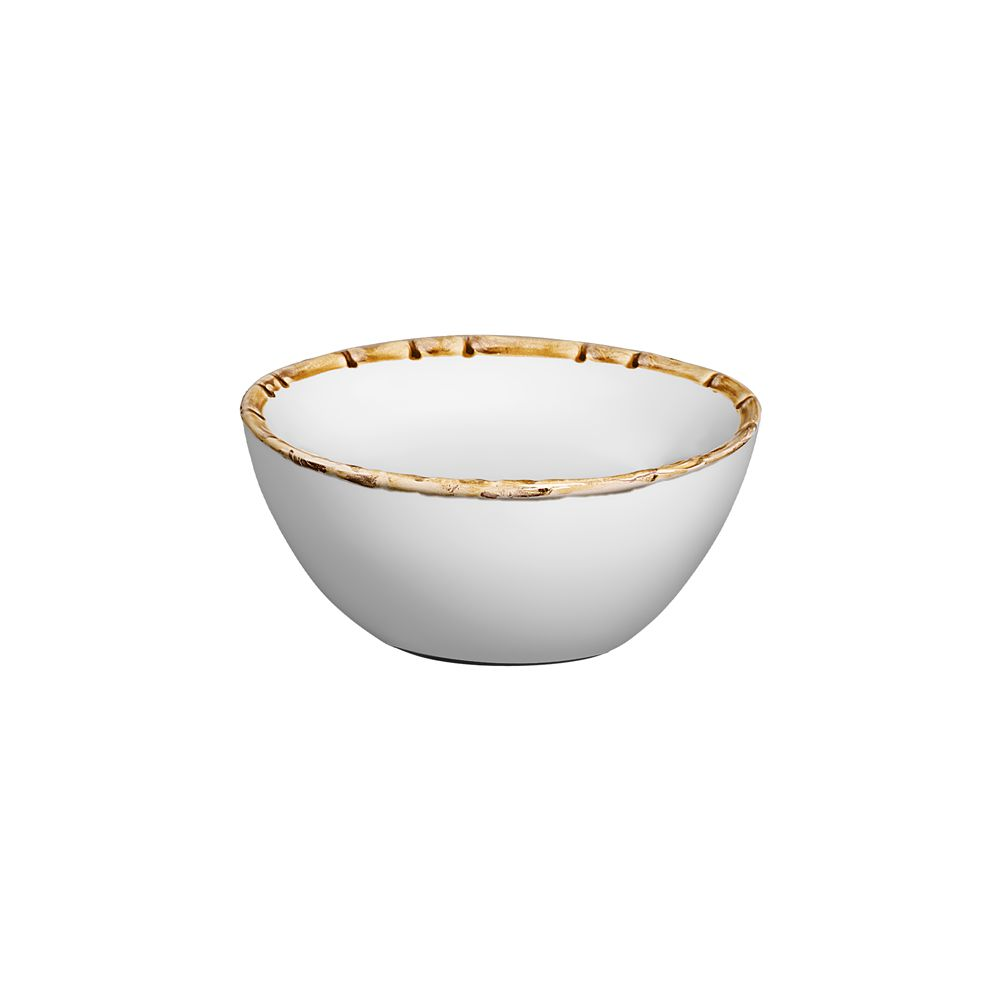 Bowl Bambu Em Cerâmica - Conjunto de 6 Unidades - 500 ml