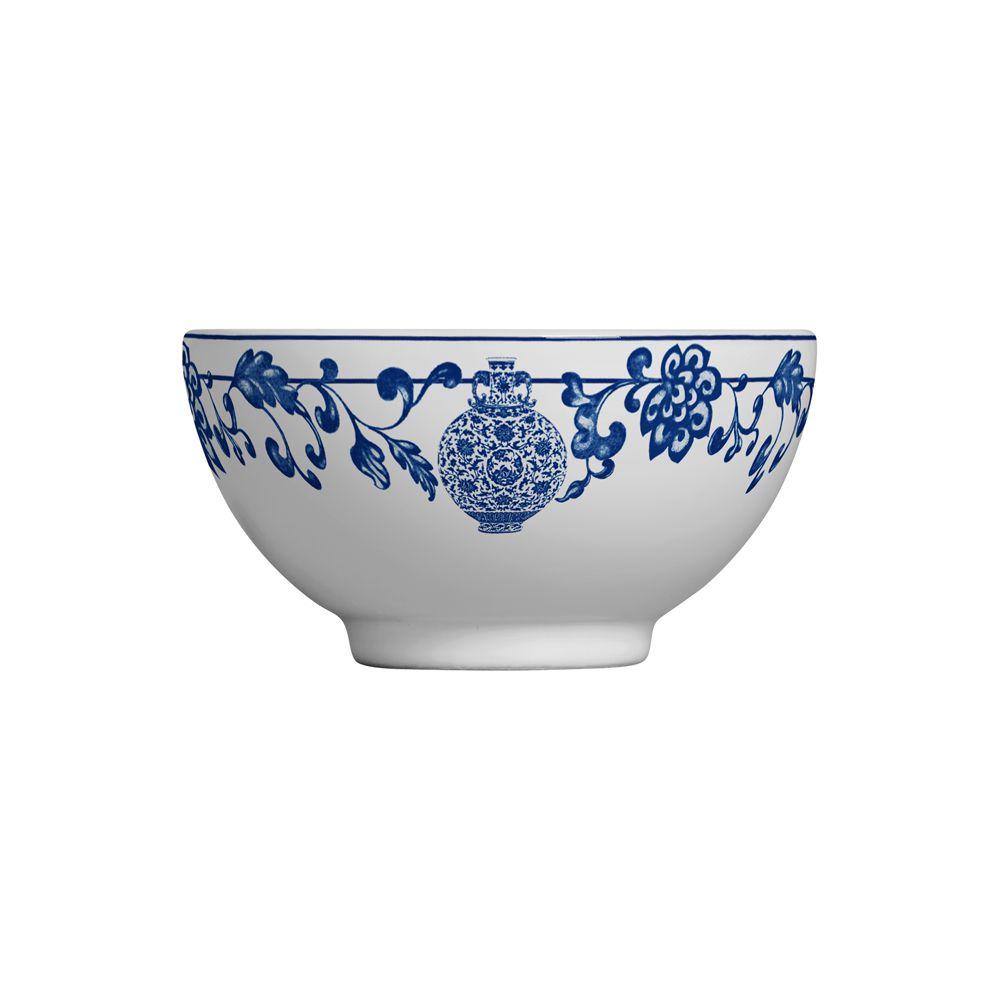 Bowl La Chinoise em Cerâmica - Conjunto de 6 Unidades - 480ml