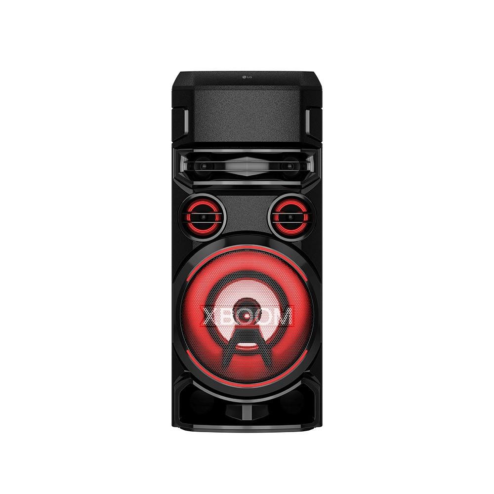 Caixa de Som LG XBOOM,Multi Bluetooth, Super Graves, Entrada de Microfone e Guitarra Preto - RN7