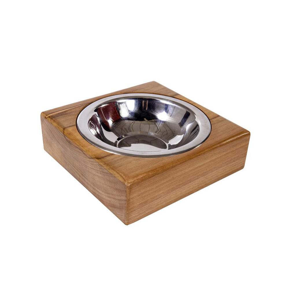Comedouro ModernPet Quadrado Premium para Cães e Gatos