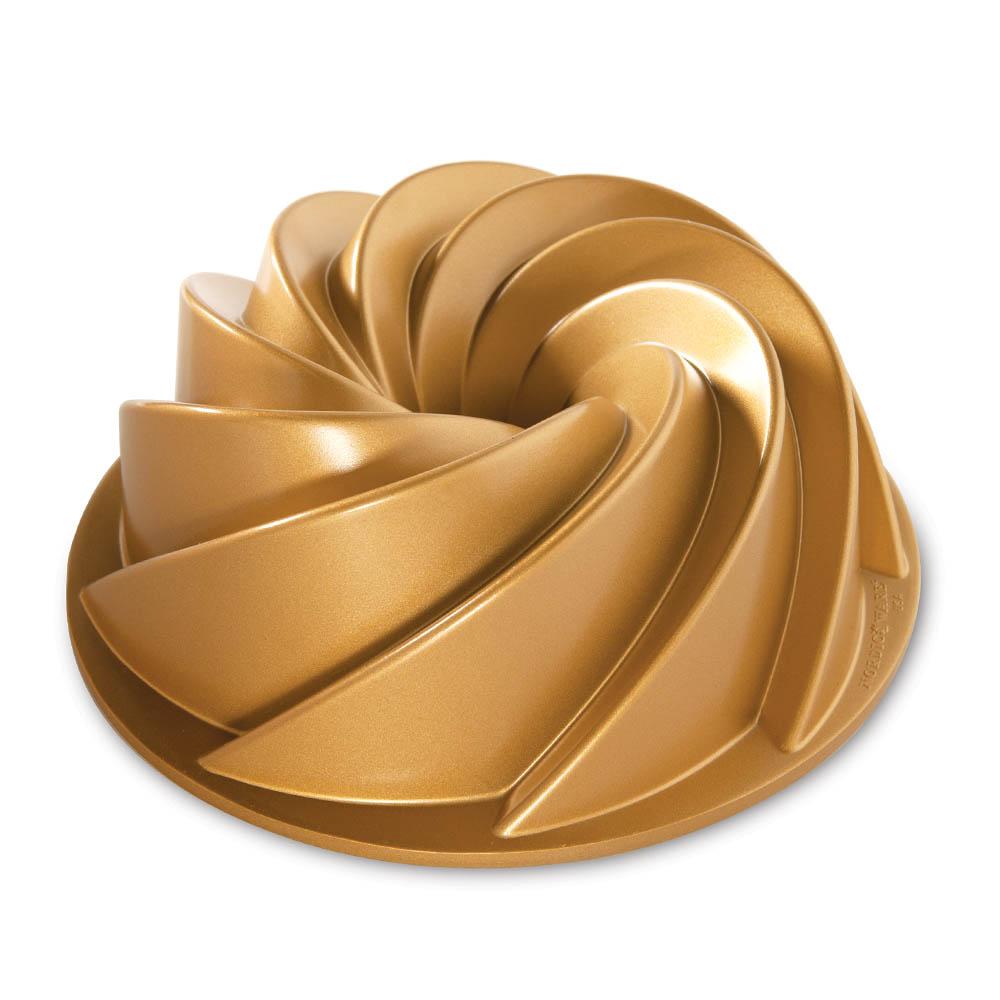Forma Para Bolo Bundt Gold Heritage - Nordic Ware