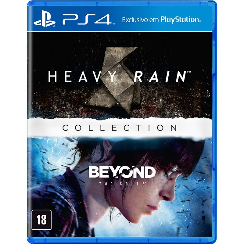 Game - the heavy rain & beyond two souls collection - PS4
