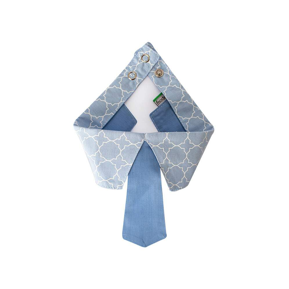 Gravata Modernpet Azul Bebe para Cães