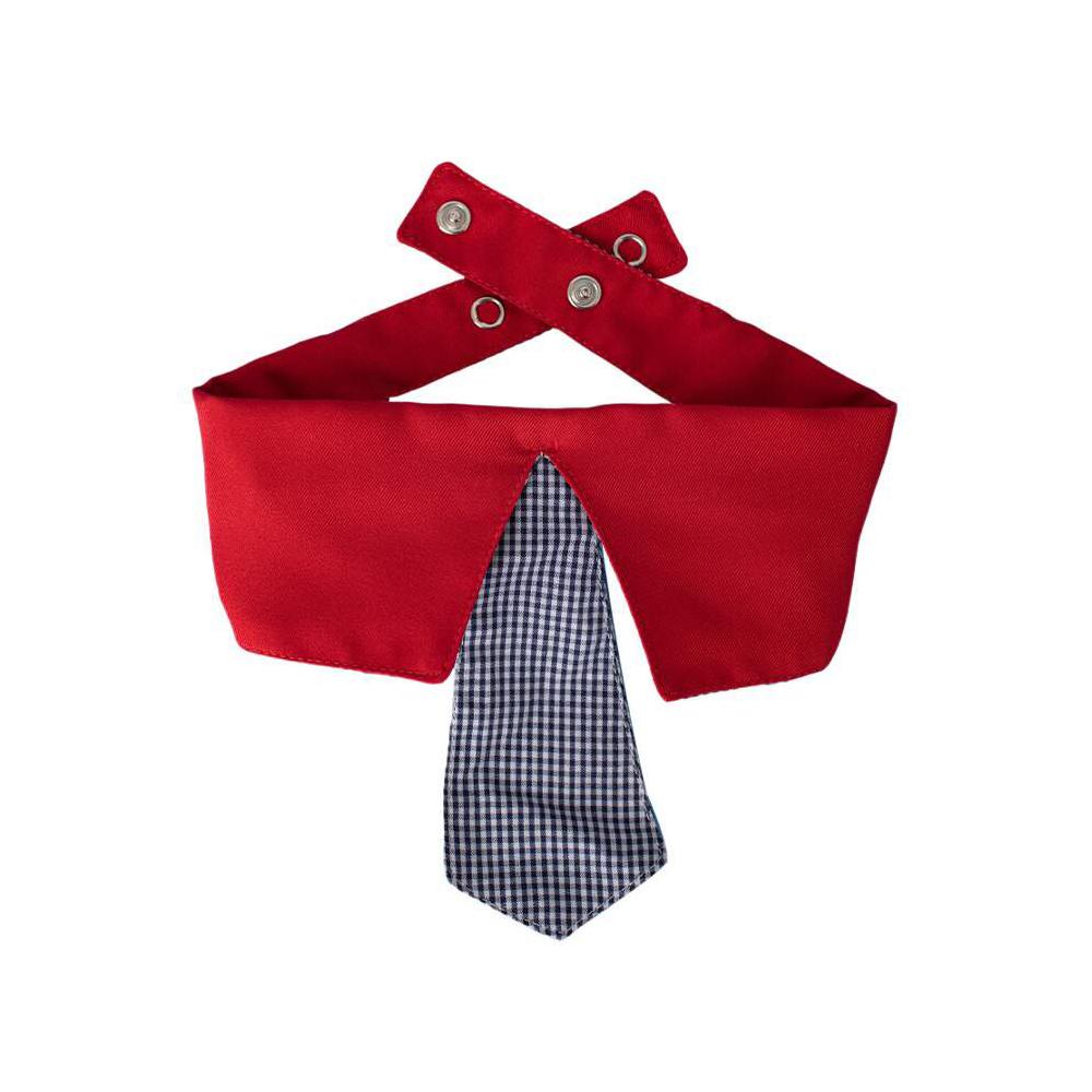 Gravata Modernpet Vermelha para Cães
